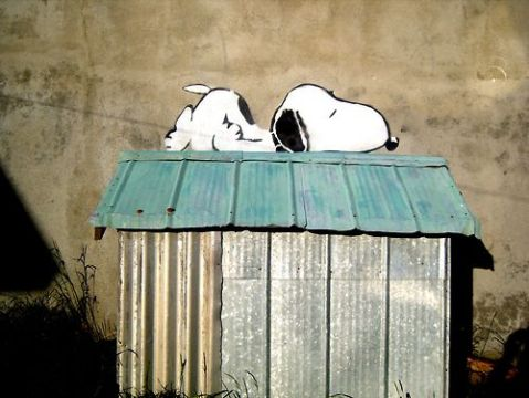snoopy graffiti
